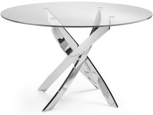 Круглый стол со стальными ножками F2133 130X130X75 CM