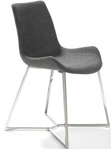 Современный дизайнерский стул F3217 54X58X82 серый
