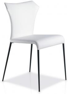 Дизайнерский стул с стальными ножками HY219 50X58X84 CM