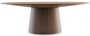 Овальный стол из ореха Atractivo 220X110X76 CM