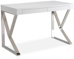 Стильный рабочий стол LE351 120X61X76 CM белый