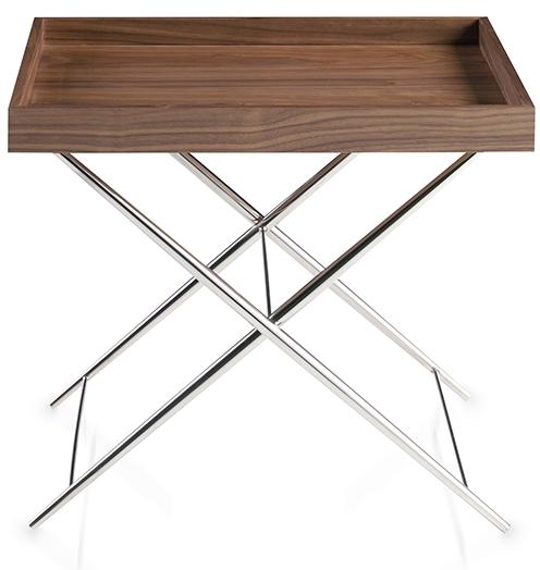 Приставной столик с бортиком Calidez 61X48X51 CM 1