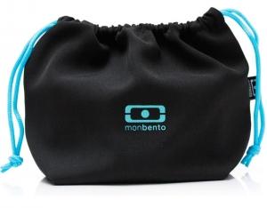 Мешочек для ланча mb pochette черный/голубой