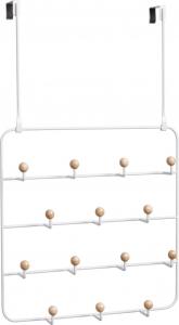 Органайзер для аксессуаров Estique с надверными креплениями белый