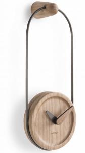 Настенные часы Eslabon 10X27 CM графит-дуб