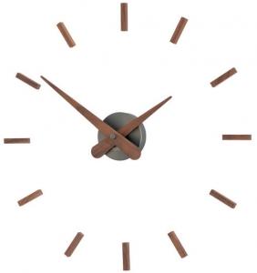 Настенные часы Sunset Ø50 CM graphite walnut wood