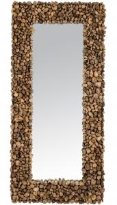 Зеркало в деревянной раме Flots Perdus 85X180 CM