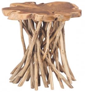 Столик из тика Pandawa 50X50X45 CM
