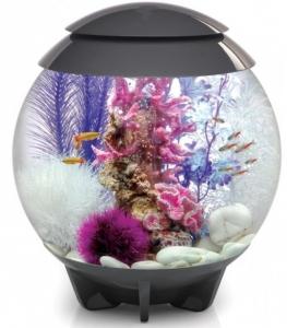 Аквариум сферической формы biOrb HALO 30 LED 40X40X46 CM серый