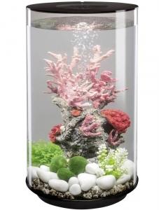 Круглый аквариум с обзором в 360° biOrb Tube 30 LED 33X33X52 CM чёрный