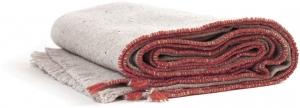 Одеяло из шерсти мериноса Sisteron 140X180 CM оранжевое
