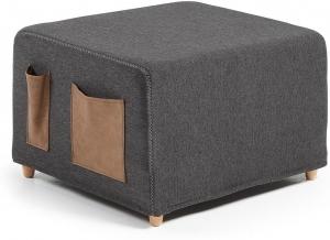 Пуф кровать Kos 70X60-180X45 CM черный