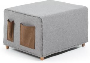 Пуф кровать Kos 70X60-180X45 CM серый