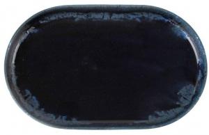 Тарелка овальная Root Blue 18X11 CM