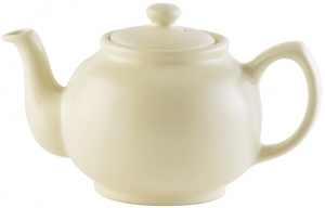 Чайник заварочный Matt Glaze 450 ml кремовый