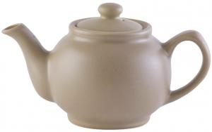 Чайник заварочный Matt Glaze 1.1 L бежевый