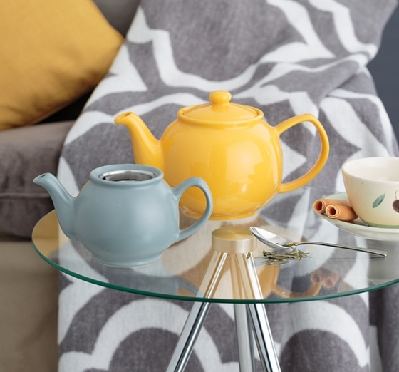 Чайник заварочный Bright Colours 1.1 L горчичный 3