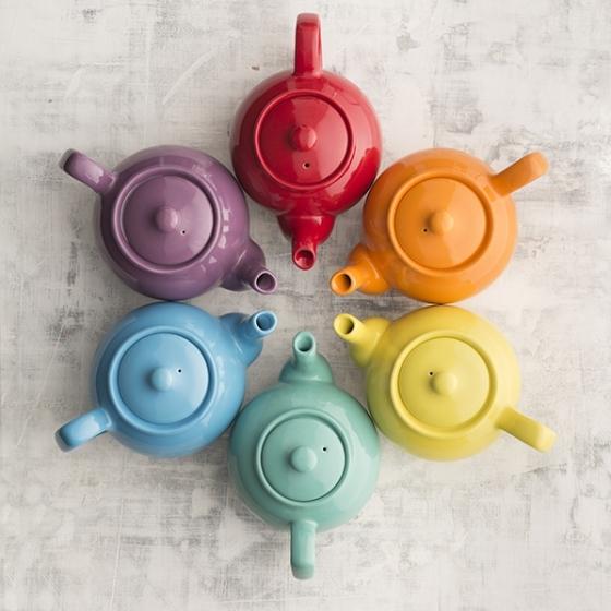 Чайник заварочный Bright Colours 1.1 L горчичный 4