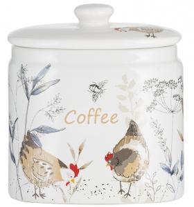 Ёмкость для хранения кофе Country Hens 650 ml