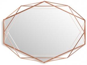 Зеркало настенное prisma 43X57X9 CM медь