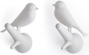 Вешалки настенные Sparrow 2 шт белые