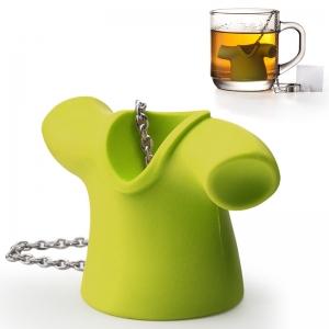 Заварочная ёмкость для чая tea shirt зеленая