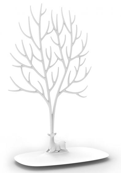 Декоративный органайзер для украшений deer большой белый 1