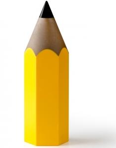 Подставка для карандашей dinsor, желтая