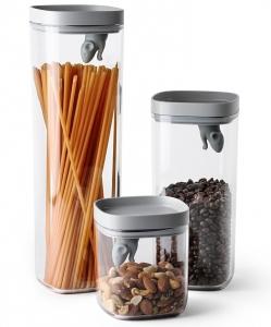 Набор кухонных ёмкостей Lucky Mouse 600 ml / 1200 ml / 2000 ml