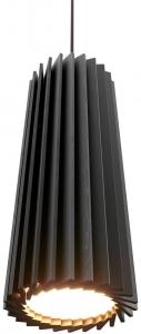 Подвесной светильник направленного света Rotor 33X12X12 CM дуб черный