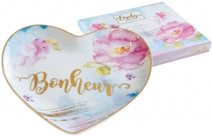 Тарелка в форме сердца Lovely 15X14 CM