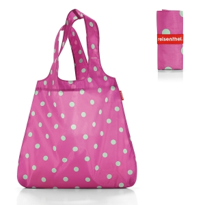 Сумка складная mini maxi shopper magenta dots