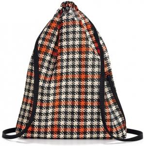 Рюкзак складной mini maxi sacpack glencheck red