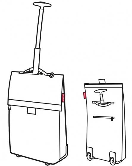 Сумка-тележка trolley m mixed dots 2