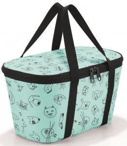 Термосумка детская Сoolerbag xs cats and dogs mint