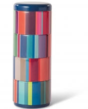 Набор контейнеров для снеков Stripes 8X8X22 CM