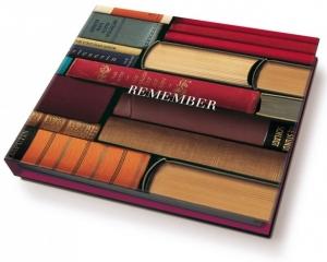 Блок для записей с ручкой Bookworms 11X10 CM