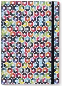 Книга для записей а4 hexagon