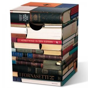 Табурет картонный сборный bookworm