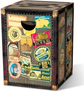 Табурет картонный сборный globetrotter