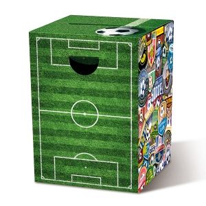 Табурет картонный сборный soccer