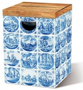 Табурет картонный сборный Delft