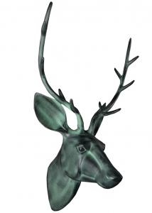 Декор настенный Deer 23X33X46 CM