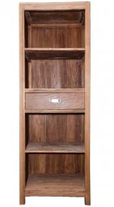 Шкаф книжный из тика Bermuda 65X45X180 CM
