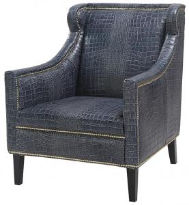 Кресло кожаное Blue 83X74X90 CM