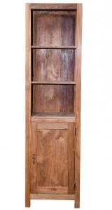 Шкаф книжный из тика Bermuda 50X40X181 CM