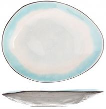 Тарелка десертная Malibu 15X12 CM