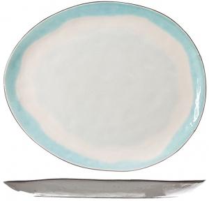 Тарелка Malibu 28X23 CM