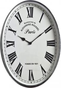 Настенные часы овальной формы 46X32 CM