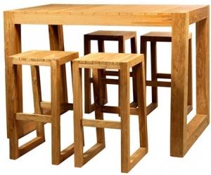 Стол барный BELLA 150X94X105 CM